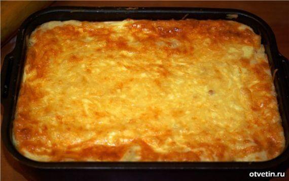 Запеканка картошкой рецепт фото